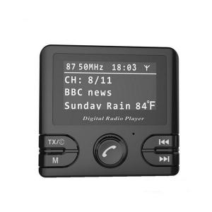 China Universal In Car DAB/DAB+  Digital DAB Radio Receiver And Display With  Bluetooth and FM Transmitter on sale