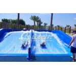 Tobogán acuático de la fibra de vidrio del simulador de los adultos que practica surf que anda en monopatín para el entretenimiento del verano