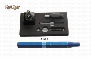 China Tobacco Ago Portable Dry Herb Vaporizer / Atomizer For Electronic Cigarette CE on sale