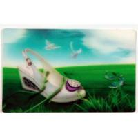 high quality 3d lenticular christmas cards-lenticular flip 3d business cards-custom lenticular business cards printing