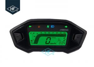 China Digital LCD Other Motorcycle Parts Backlight 13000RPM Speedometer With Speed Sensor on sale
