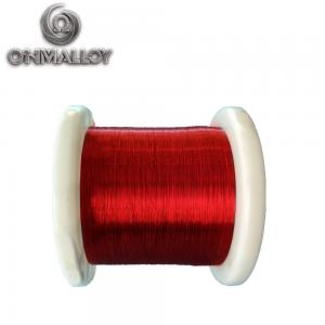 China Enameled Copper Wire Lacquered Resistance Constantan CuNi44 Alloy Wire Red/Gold China Factory on sale
