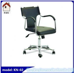 China cheap ergonomic office chair black office chair with wheels KN-02 on sale