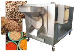 China Drum Sesame Seed Nuts Roasting Machine Dry Cereal Grain Roaster 3000*1200*1700 Mm on sale