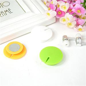China Outdoor ABS Magnetic Headphone Cable Management Green / Yellow on sale