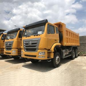 China Sinotruk Hohan 6x4 Heavy Duty Dump Truck 371 Hp Multi Color Optional on sale