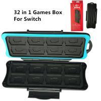 32 in 1 Waterproof Memory Card Box Storage for Nintendo Switch