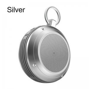 China Wireless Bluetooth Speaker Portable Outdoor IPX5 Waterproof Anti-fall FM Radio LED Alarm Clock Audio Player on sale