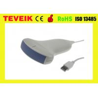 China Handheld Portable Medical Ultrasound Transducer , USB Laptop Ultrasound Transducer Probe on sale