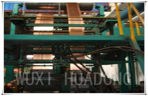China 14mm Two Strands Strip Copper Continuous Casting Machine Low Frequency on sale