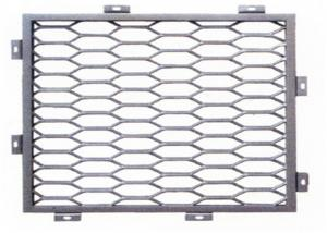 China Maille en aluminium de grille de petit en cuivre de trou, feuille en aluminium augmentée on sale