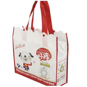 China custom personalized printed non woven reusable bags manufacturer for sale on sale