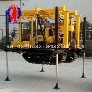 China XYD-130 crawler hydraulic water well drilling rig/crawler hydraulic water well rig on sale