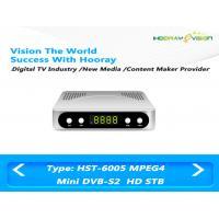 Mini FTA  DVB S2 Set Top Box , Full HD Mpeg4 H 264 DVB S2 Digital Receiver