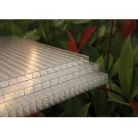 China Double Wall Polycarbonate Greenhouse Panels , Polycarbonate Flat Sheeting on sale