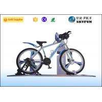 3D / 4D / 5D / 7D / 9D Virtual Exercise Bike , Indoor Cycling Simulator With 9D VR Cinema