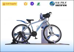 China 3D / 4D / 5D / 7D / 9D Virtual Exercise Bike , Indoor Cycling Simulator With 9D VR Cinema on sale