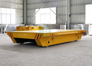 China Custom Slab / Billet Non-Powered Transfer Car Manually Guided Rail Industry Vehicle on sale