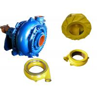 High Chrome Alloy Sand Dredging Pump , Sand Removal Pump One Stage Structure