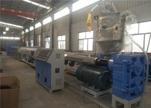 China Fully Automatic PE Water Pipe Extrusion Line , pe pipe machinery with CE ISO9001 on sale