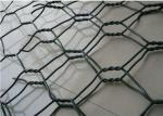 PVC Coated Gulafan Wire Mesh Gabion Baskets 2*1*0.5m Used In River Protection