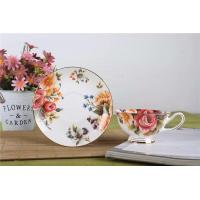 China Tableware Low Water Absorption English Bone China Tea Cups on sale