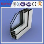China Sliding open style and double glazed Aluminum Profile sliding windows wholesale