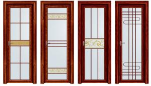 China Household Powder Coating Aluminium Casement Door 5 mm + 9 A + 5 mm on sale