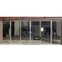 Below 60db Induction Auto Sliding Door Automatic Sliding Glass Doors With Sensor