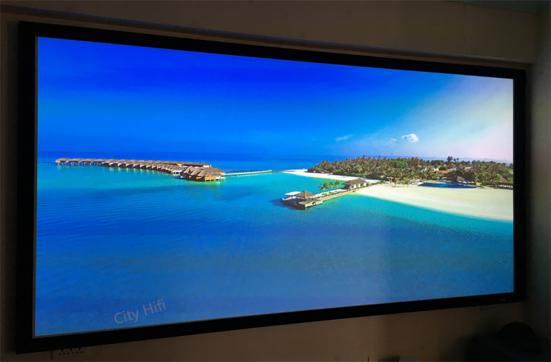 Top Rank 4k Projector Screen 110 Inch Unbent Diy Wall