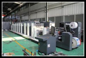 China Shaftless Offset Intermittent Rotary Label Printing Machine on sale