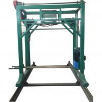 Portable chainsaw sawmill,Electric auto feeding chain saw mill machine