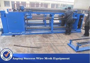 China Chicken Cages Gabion Mesh Machine / Chicken Mesh Making Machine For Rolls on sale