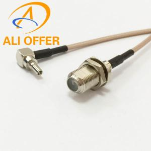 China High Quality 3G HUAWEI MODEM Extension Cable,CRC9 Male Right Angle switch F Female Jumper Cable RG316 15cm Pigtail on sale