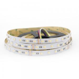 China Addressable 5050 RGB LED strip 24V flexible RGBWW strip lights on sale