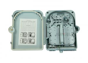 China Junpu Waterproof 24 Core Fiber Optic Termination Box With 24 Ports SC Adapter on sale