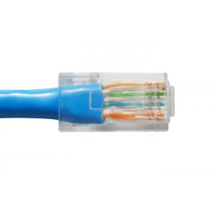 8FT Cat6 Network Cable , CM Type PVC Jacket Cat6 Ethernet Cable PE Insulation