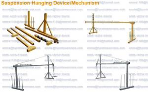 China 1000kg 7.5m Climbing Suspended Platform Building Cleaning Equipment on sale