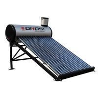 Stainless steel compact unpressurized solar hot water heater