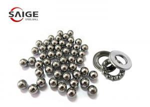 China 1.588mm Miniature Steel Balls , G10 52100 Chrome Steel Balls For Thrust Bearings on sale