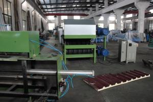 China PU Sandwich Panel Line for wall and roof on sale