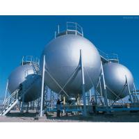 Triple Wall Stainless Steel Pressure Vessel Tank , Natural Gas Storage Tank