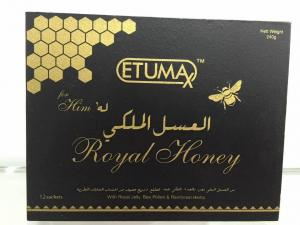 China ETUMA Royal Honey For Him  (12sachets),  Herbal Food Supplement To Improve Sexual Function on sale