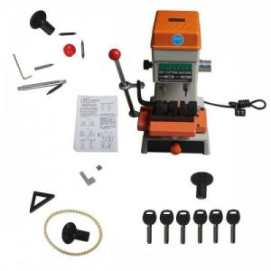 China Best Offer 368A Key Cutting Duplicated Machine Locksmith Tools Key 200W with horizontally moving the handle feed on sale