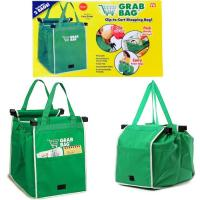 Spunbond Nonwoven Foldable Reusable Tote Bags Multi - Color Printing