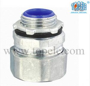 China 1-1/2 Zinc Male Electrical IMC Pipe Connector For Rigid Compression Fittings on sale