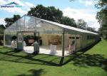 China Clear Wedding Party Marquee Tent With Air Conditioner Flame Retardant DIN4102 B1 wholesale