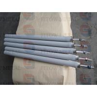 Supply high temperature low rank coal pyrolysis gas purification of metal powder sintered