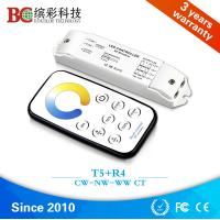 T5+R3 Mini led CT dimmer CW NW WW touch remote control CT controller DC12V-24V