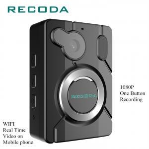 China IP67 Waterproof Police Body Worn Video Camera 1080P WIFI/GPS 15 Hours Recording on sale